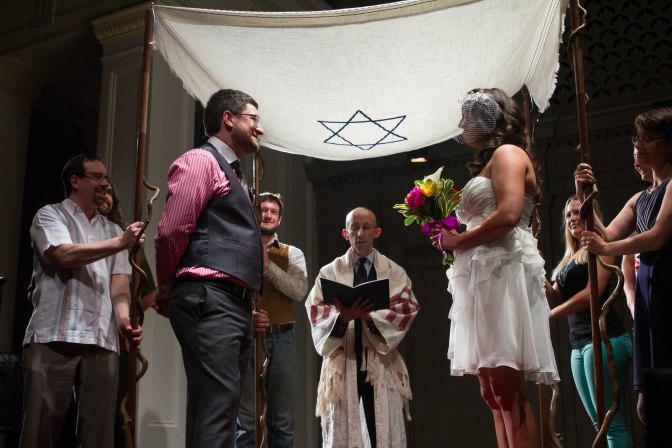 Noah Iliinsky and Teresa Valdez-Klein: The 5-minute wedding!