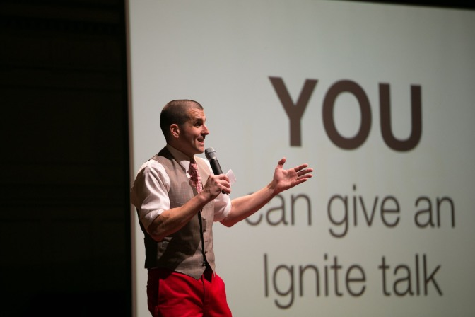 Submit a talk to Ignite Seattle 30