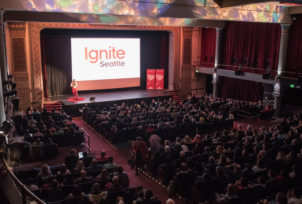 Speaker List: Ignite Seattle #37 at The Egyptian on Oct 4