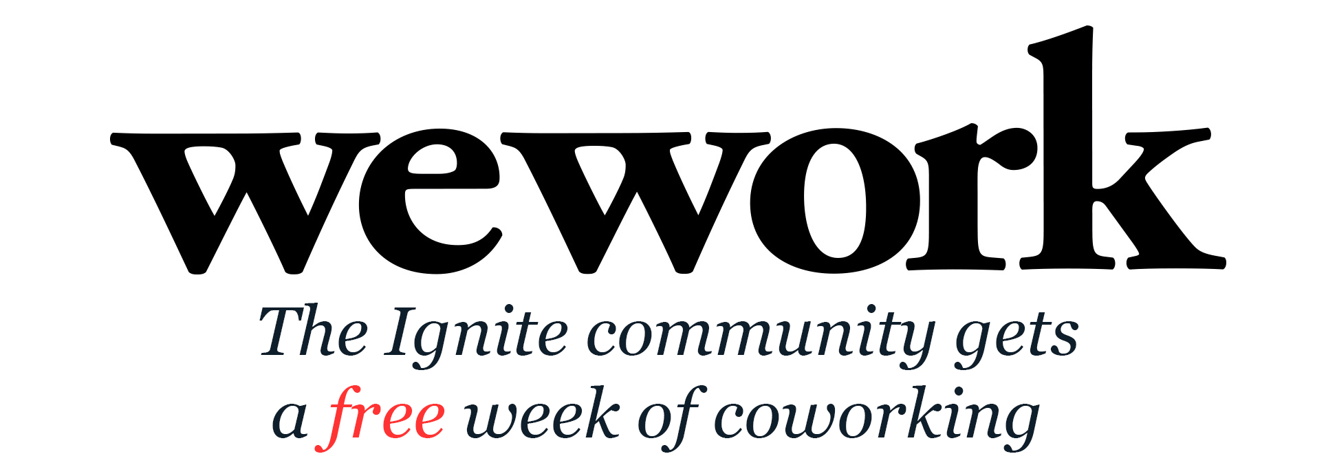 Ignite Seattle is sponsored by WeWork