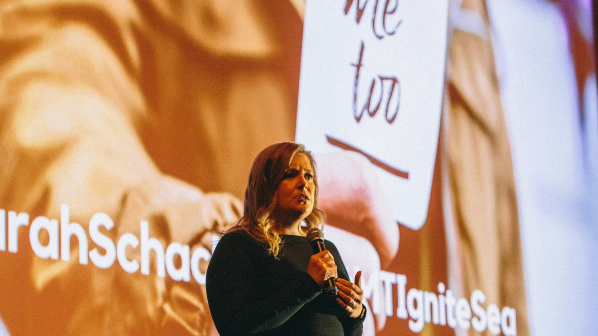 Ignite Seattle Podcast #4: Sarah Schacht – #MeToo, What It Takes To Come Forward